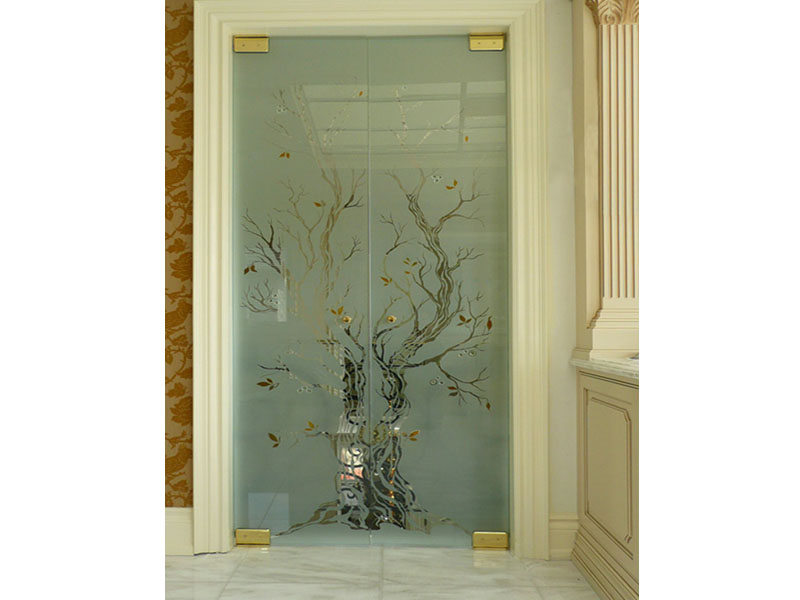 Decorative Glazing In Doors : Decorative glass doors cgd countertops