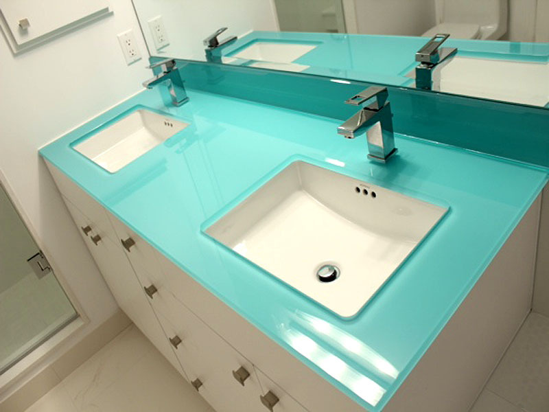 Superbe [Show Slideshow] · Enns1 1. Enns6. Large. Photo2. Glass Bathroom Countertop