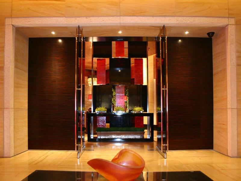 Red Rock Hotel Las Vegas Glass Panel