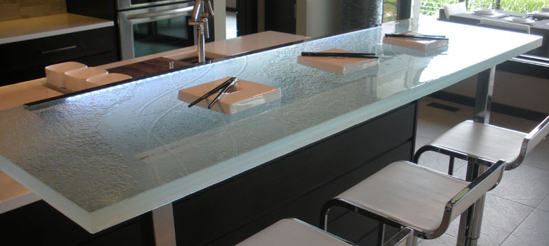 Custom Glass Countertops by CGD Glass Countertops