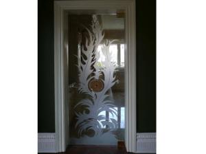 Decorative Glass Door 2