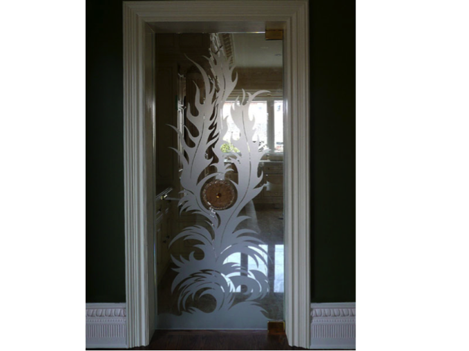 Decorative Glass Door 2