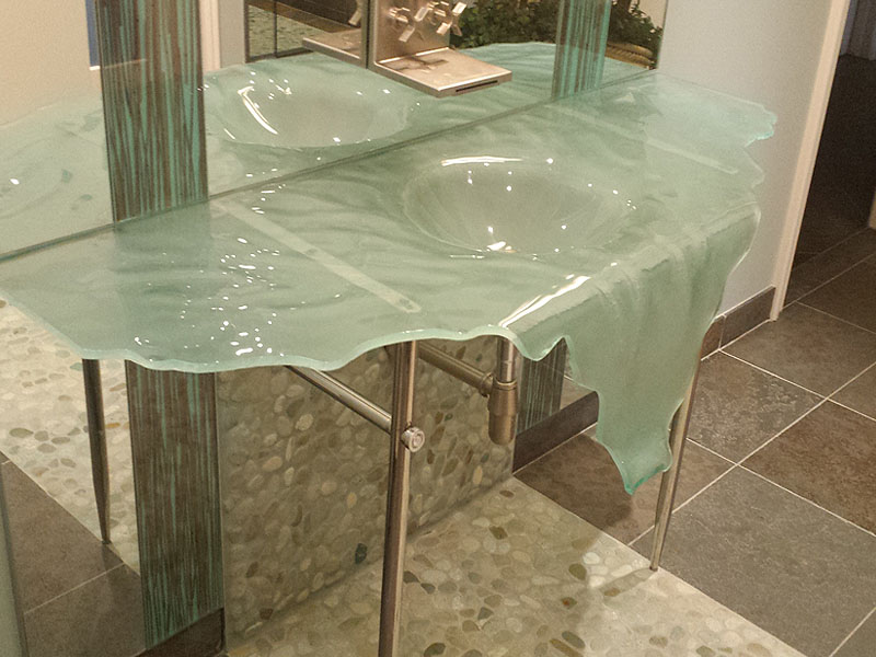 Recent Glass Sink Installation Showcase Cgd Glass