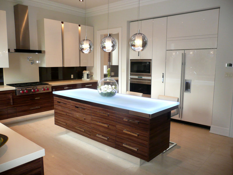 Glass Kitchen Islands Cgd Glass Countertops